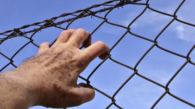 Förvirrad fri fånge