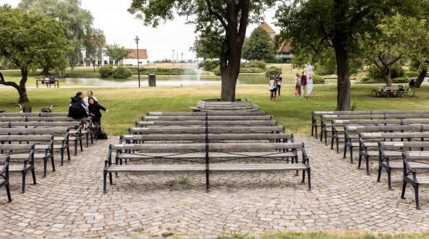 När Almedalen flyttade till Riksdagshuset
