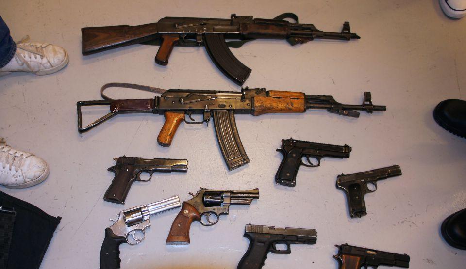 Skärpta straff för vapenbrott